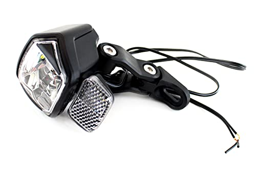 Contec Fahrrad Beleuchtung LED Scheinwerfer DLUX 30 N++ mit Hell-Dunkel-Sensor