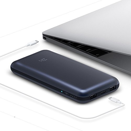 ZMI USB PD Backup Battery & Hub for MacBook 2015/MacBook Pro 2016 or later/Pixelbook/Nintendo Switch/Pixel/iPhone 8 Fast Charge External Battery Pack Portable Charger Powerbank for iPhone/iPad/Samsung