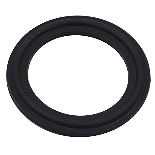 DERNORD FKM Rubber Gasket Tri-clamp O-Ring Fits Sanitary Tri-clover Type Ferrule (Tri-Clamp Size: 12 Inch)