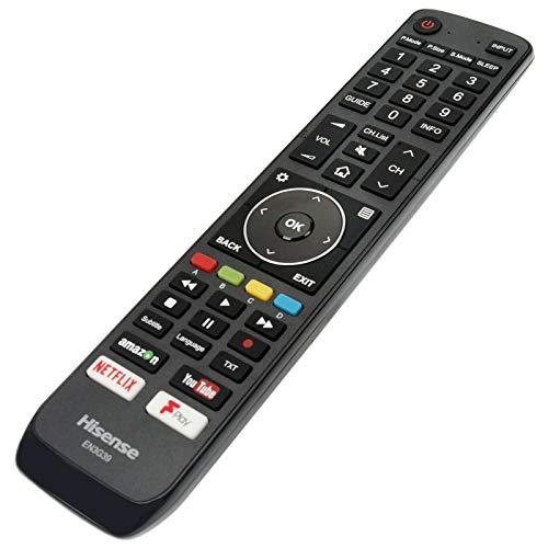 Hisense EN3G39 Genuine Remote Control for 2018 2019 Smart LED TVs