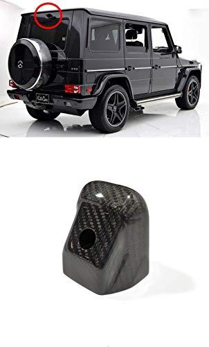 W463 G Wagon Rear View Camera Carbon Fiber Cover G63 AMG Rear Camera Housing Trim for Reversing Camera for G500 G55 G63 G Class Mercedes Benz