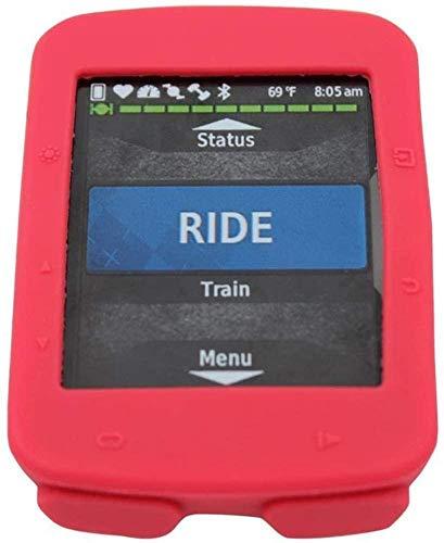 Garmin 520 Edge - Funda protectora para ordenador de bicicleta GPS Garmin Edge 520, color rojo