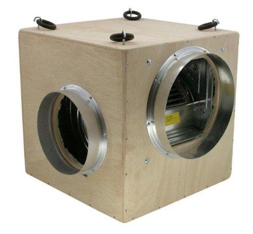 Boîte de 1500 m ³ par fUTURE mDF 2 x 250 mm (entrée/sortie diminuer le niveau sonore vis)