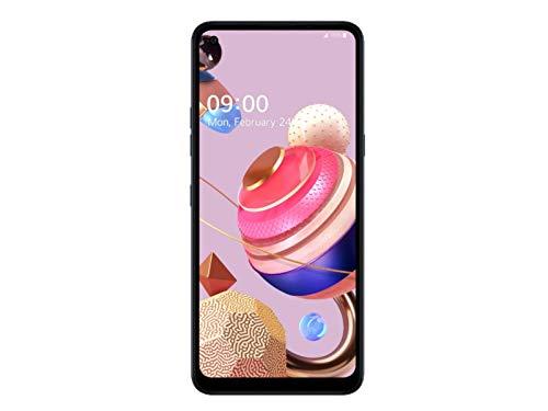 LG K51S Smartphone Dual SIM con 5 Fotocamere, Sensore 32MP, Display 6.5'' HD+, Batteria 4000mAh, Audio DTS:X, Octa-Core 2.3GHz, Memoria 64GB, 3GB RAM, cover trasparente inclusa, Titanium [Italia]