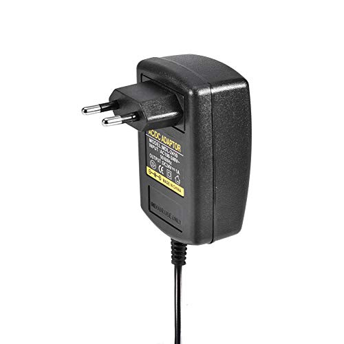 Yeelur Adaptador de CA Adaptador de Cargador de Pared Universal de EE. UU. Fuente de alimentación Adaptador de CA de EE. UU. para Mini cámara de(European Standard (100-230v))