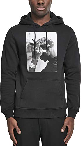 Mister Tee 2Pac F the World Hoodie, Farbe black, Size M