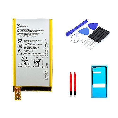 kaputt.de AKKU Set Batterie für Sony Xperia Z3 Compact | 2600 mAh | 3,8 V | LIS1561ERPC | Reparaturset