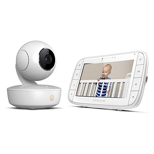 Motorola MBP36XL, baby monitor con telecamera, alimentato da batteria portatile, 12,7 cm (UK Plug)