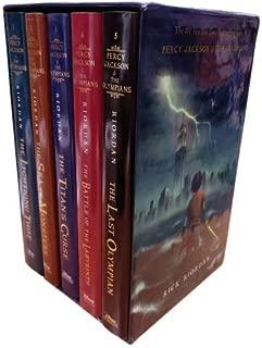 Percy Jackson and the Olympians Collection Rick Riordan 5 Books Set by Rick Riordan