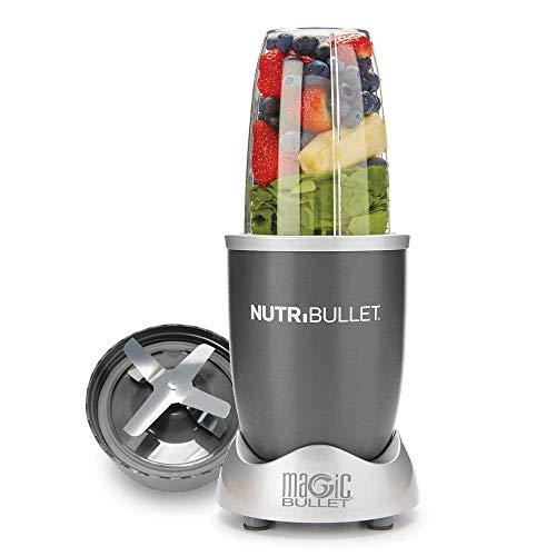 NutriBullet 900 Watt Pro Extractor De Nutrientes Original - Licuadora Ciclónico - Smoothie Healthy - Motor: 25.000 RPM - Color Gris