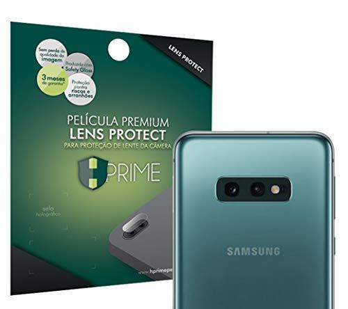Película para câmera LensProtect para Samsung Galaxy S10e, Hprime, Película Protetora de Tela para Celular, Transparente