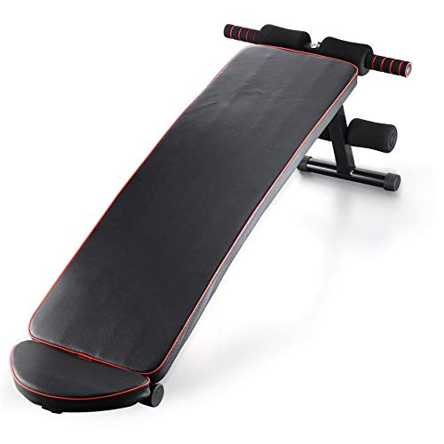 Discover Bargain BWAM-oud Back Inversion Table Home Fitness Lazy Abdominal Muscles Sit-up Board Fitn...