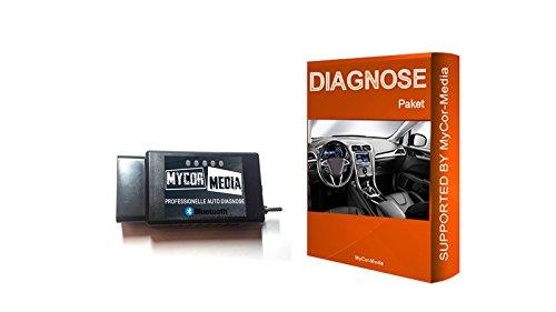 MyCor-Media Bluetooth Diagnose für Ford Mazda FORScan Focus Smax Mondeo Kuga CMax Mondeo