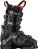 Salomon S/Max 65 Kids Ski Boots Black/Red Sz 3/3.5 (22/22.5)