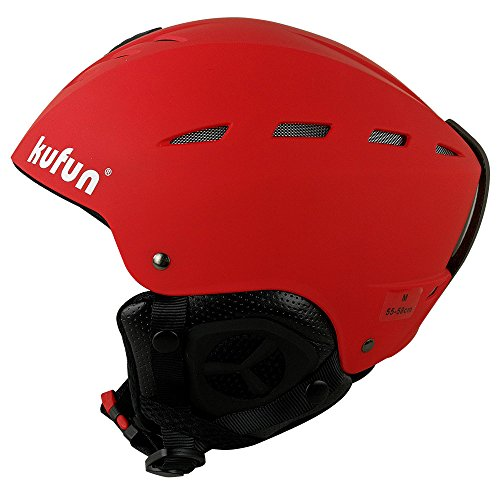 KUFUN ヘルメット スキー スノーボード 用 ダイヤルサイズ調節可 キッズ レディース スキー ヘルメット ス...