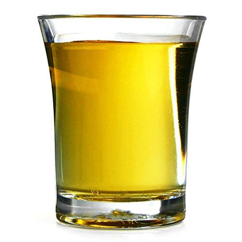 Econ polystyrène verres à Shot CE 25 ml (0,9 oz) Lot de 6 verres à Shot en plastique