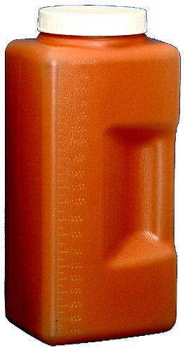 Dynalon 201315-2000A 2 L Amber Graduated Square Mouth Wide Excellence Very popular! Bott