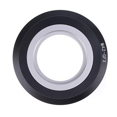 Hersmay Adaptador de montura de lente M42 a GFX compatible con lente de montaje de tornillo M42 a Fuji G-Mount compatible con Fujifilm GFX 50S, GFX 50R, GFX 100 y VG-GFX1 cuerpo de cámara sin espejo