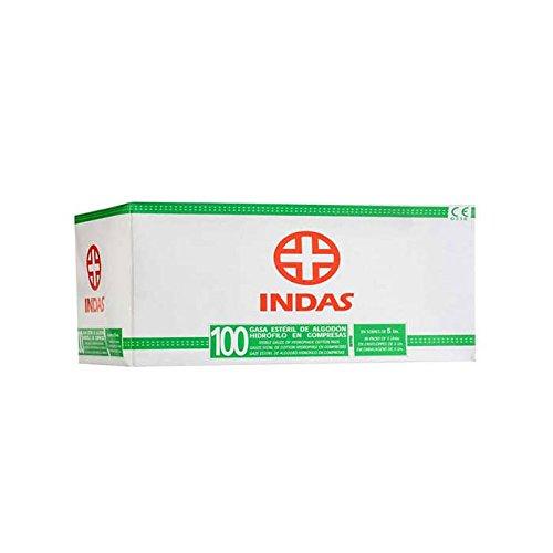 Indas Compresa Gasa Esteril 100U Indas 160 g