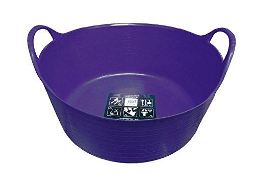 Tubtrugs 0729848001481 SP15P 15 liter kleine platte badkuipen – violet