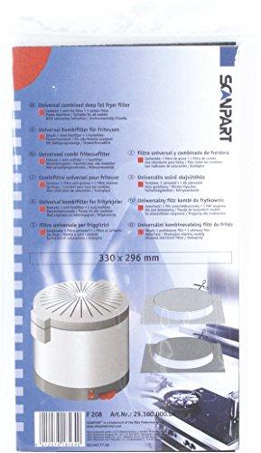 SCANPART filtro alternativa friggitrice, uso universale 2910000004