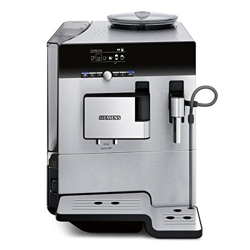 Siemens TE803509DE Kaffeevollautomat EQ.8 series 300, Edelstahlfront/schwarz