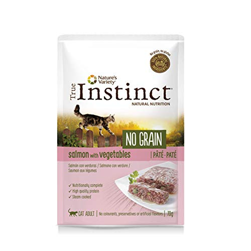 True Instinct No Grain Salmone - Paté- Adult 70G X 8-560 Gr