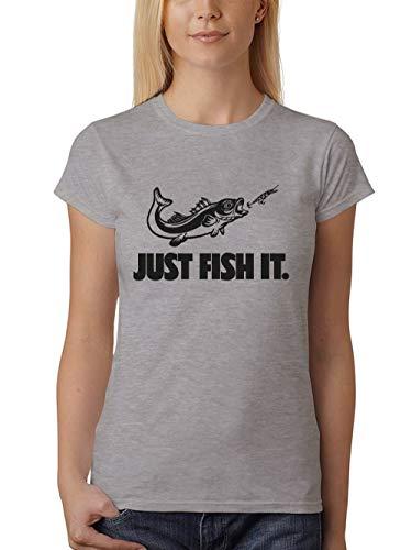 clothinx - Angel-Hemden & T-Shirts für Damen in Sports Grey, Größe XL - GIRLS FIT