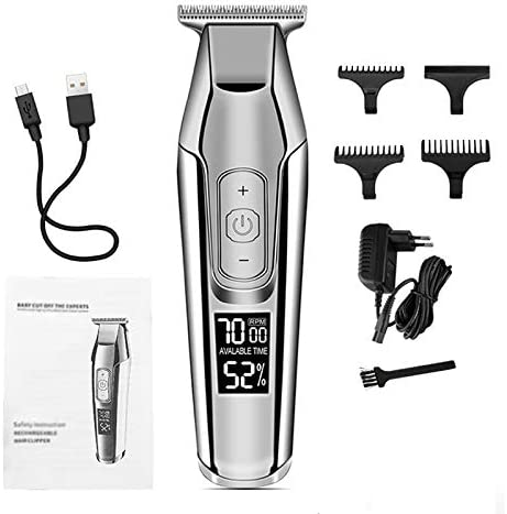 ZCFXGHH Professional Hair Omaha Mall Clipper CD Cheap Disp Electric Trimmers