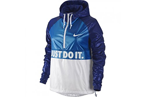 Nike City Dame Jacke, zusammenlegbar S Azul/Blanco (lt Photo Blue/deep royal Blue/White)