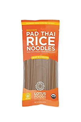 Lotus Foods Organic Traditional Pad Thai Noodles, 8 Count