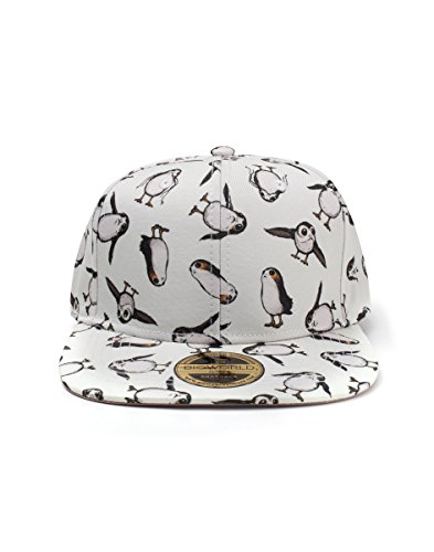 Star Wars: Episode VII - The F Cap All Over Porgs Snapback White
