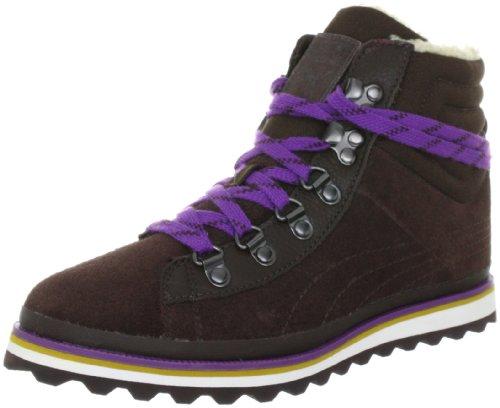 PUMA Damen City Snow Boot S WN's Klassische Stiefel, Braun (Chocolate Brown 02), 37