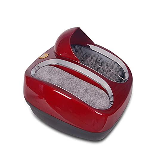 YXBDN 220V Completamente automático Zapato Inteligente Suela Limpieza máquina de Pulido de Zapatos Limpiador de Zapatos en Lugar de Cubierta de Zapatos (Color : A, Size : One Size)