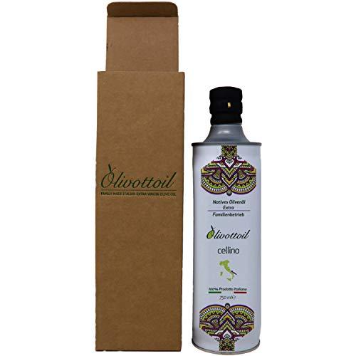 Neue Ernte 2020!!! Olivottoil italienischen Natives Olivenöl Extra Cellino | Reich an Antioxidantien | Bestes gesundes Angebot aller Zeiten