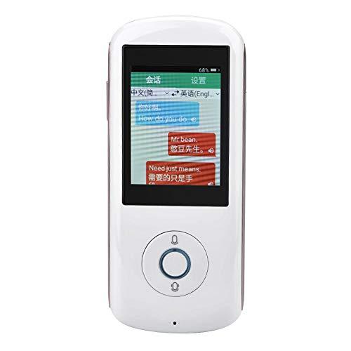 Zoternen Instant-Voice-Transformator, 35 Sprachen mit Touchscreen, WiFi-SIM-Karte (2G/3G/4G) Hotspot weiß