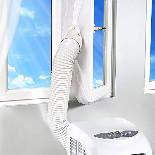Fensterabdichtung 300CM für Tragbare Klimaanlage und Wäschetrockner,Universelle Fensterdichtung für Jede Mobile Lufteinheit Geeignet,AirLock Für Fenster, Dachfenster, Kippfenster