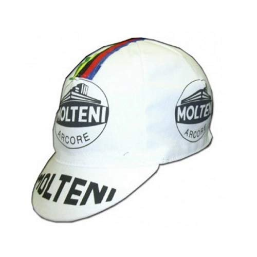 Apis Cappellino Ciclismo Team Vintage Molteni Cycling cap HOSTED BY PRO' Line
