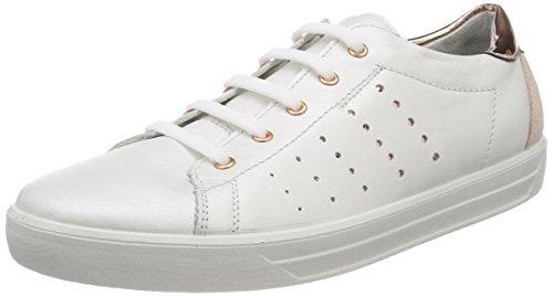 RICOSTA Damen Midori Sneaker, Weiß (Weiss), 41 EU