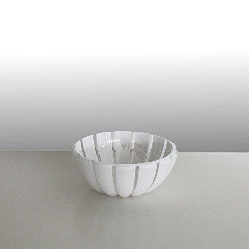 guzzini Schale GRACE transparent-weiß, D ca. 12 cm