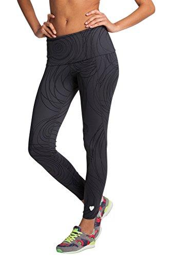 Desigual Damen Legging Pants, 56K2SB0, Grau, Gr. 38 (Herstellergröße:DE:M/FR:L)