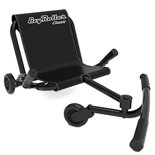EzyRoller Classic Kinderfahrzeug Dreirad Sitz Spielzeug, Farbe: schwarz