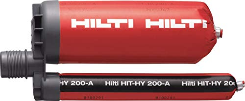 Hilti Injectable Mortar Epoxy Hybrid adh HY 200-A - 11.1 Oz Cartridge - 2022791