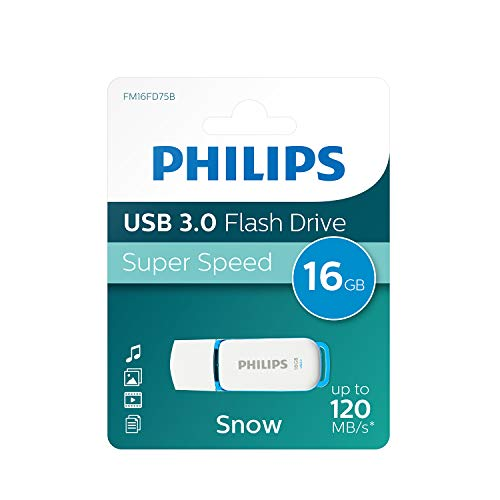 Philips SNOW 3.0 - Memoria USB de 16 GB
