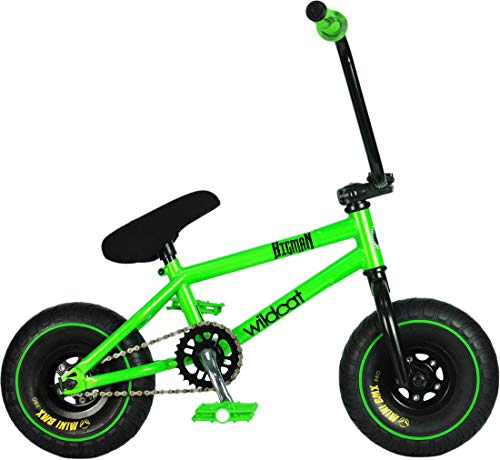 Wildcat Amazon Original 1A - Mini bicicleta BMX para niños, sin freno, color verde