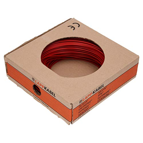 Lapp Kabel Litze H05V-K 0,5mm² rot 100M 4510041