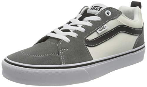 Vans Filmore Suede/Canvas, Zapatillas Hombre, Retro Sport Pewter/White/Black, 43 EU