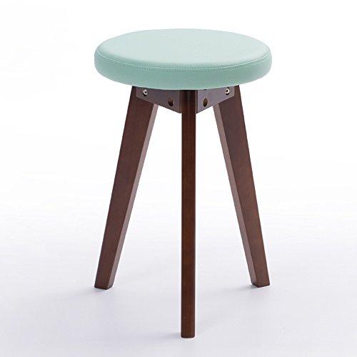 MEIDUO Durable Selles Tabouret rond en caoutchouc de tabouret de tabouret de PVC de Housewares en 5 couleurs pour intérieur extérieur (Couleur : Vert, taille : B)