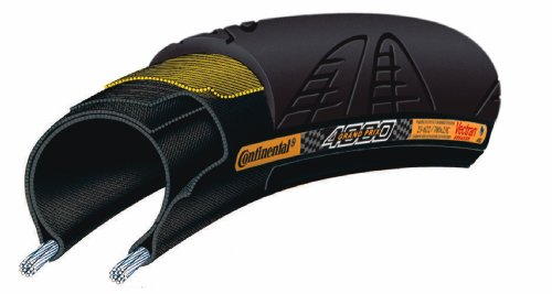 Continental Rennrad - Reifen Grand Prix 4000 Rennradreifen, black-black skin foldable, 700 x 20C