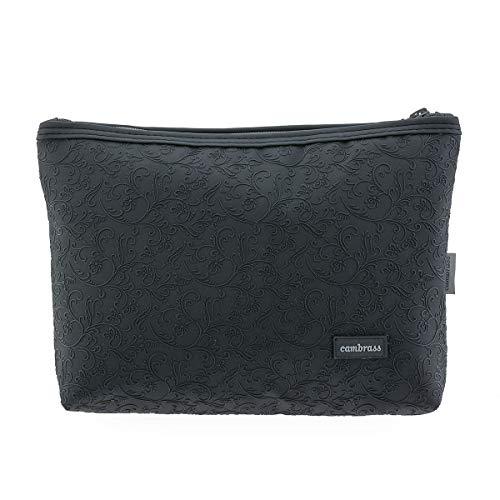 Bolsa Aseo Elite Negro 6x28x20 cm